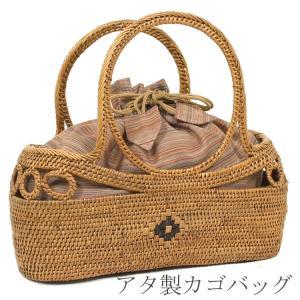 アタバッグ カゴバッグ  夏 バッグ アタ バッグ 浴衣 バッグ 56373 kyonenya