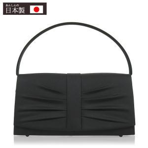 フォーマル バッグ 黒 弔事 ブラックフォーマル バッグ 冠婚葬祭 喪服 バッグ 6764 日本製 レディース|kyonenya