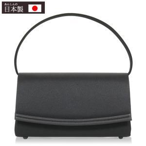 フォーマル バッグ 弔事 ブラックフォーマル バッグ 黒 フォーマルバッグ レディース 日本製 葬式 冠婚葬祭 喪服バッグ formal bag 6901|kyonenya