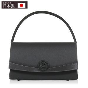 フォーマル バッグ 黒 弔事 ブラックフォーマル バッグ 喪服 バッグ 日本製 レディース 6932|kyonenya