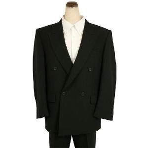 紳士 ブラックフォーマルスーツ ダブル 4つボタン メンズ 喪服 礼服 冠婚葬祭 スーツ 200|kyonenya