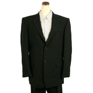 フォーマルスーツ メンズ シングル 2つボタン 喪服 礼服 男性 冠婚葬祭 スーツ ブラックフォーマル 紳士 812|kyonenya