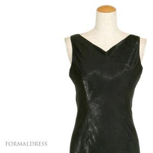 フォーマルドレス 結婚式 発表会 パーティー ドレス 黒 ブラック 009  9号・13号|kyonenya