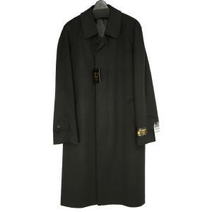 紳士 カシミヤ コート カシミア 100% ラグラン ロング メンズ 男性 冠婚葬祭 フォーマル コート 黒 ブラック 500|kyonenya