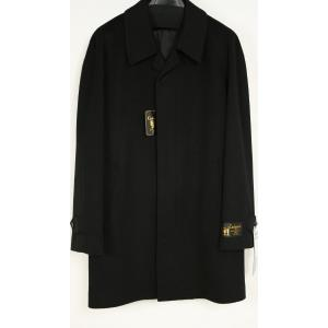 紳士 カシミヤコート SS・S・M・L・LL・3L  比翼 カシミア 100% メンズ フォーマル コート 黒 小さいサイズ 大きいサイズ  501|kyonenya