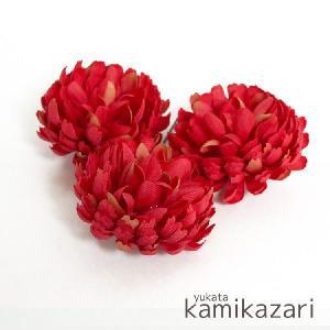 浴衣 髪飾り 成人式 振袖 髪飾り 卒業式袴 髪飾り E179 赤|kyonenya