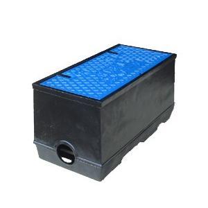 量水器ボックス 水道 メーターボックス 20-25mm用 T8 底板付き 耐荷重 8t 中荷重用 鋳鉄 水道管 20-25mm用 KTK-20S|kyoritsuic