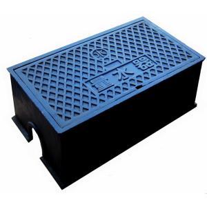 量水器ボックス 水道 メーターボックス 30-40mm用 T6 耐荷重 6t 中荷重用 鋳鉄 水道管 30-40mm用 底板無し KSK-40|kyoritsuic