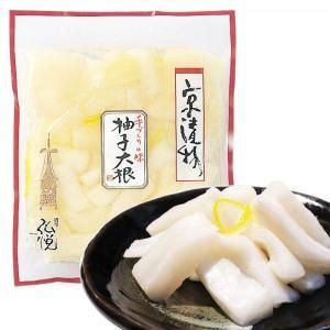 大根と柚子を醤油漬にしました。 柚子の香りが食欲をそそる人気の商品です。 パリッとした食感をお楽しみ...
