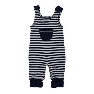 【送料無料】L'ovedbaby Stripe-A-Pose Collection  キッズ ストライプ ハーレム ロンパー sap-k414 ネイビー/ホワイト・3歳|kyoto-bestlife