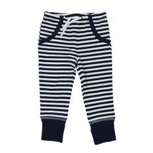 【送料無料】L'ovedbaby Stripe-A-Pose Collection  キッズ ストライプ ジョガーパンツ sap-k407 ネイビー/ホワイト・4歳|kyoto-bestlife