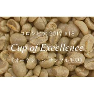 コーヒー生豆 200g Cup of Excellence 2017年 コロンビア 18位  San Francisco|kyoto-coffee