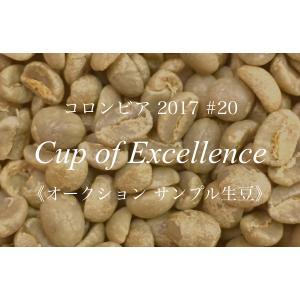 コーヒー生豆 203g Cup of Excellence 2017年 コロンビア 20位  El Bosque Del Livano|kyoto-coffee