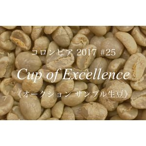 コーヒー生豆 201g Cup of Excellence 2017年 コロンビア 25位  El Limon|kyoto-coffee