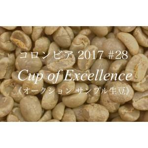 コーヒー生豆 200g Cup of Excellence 2017年 コロンビア 28位  Limon|kyoto-coffee