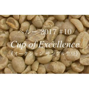 コーヒー生豆 210g Cup of Excellence 2017年 ペルー 10位 Palmachayucc|kyoto-coffee