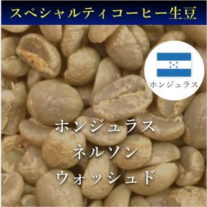 コーヒー生豆 コーヒー 珈琲 1kg  ホンデュラス ネルソン ウォッシュド|kyoto-coffee