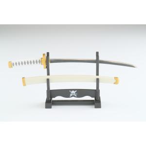 """●三刀流の剣豪ロロノア・ゾロの刀である""""和道一文字""""を模したペーパーナイフです。  ●全体的に白色で..."""