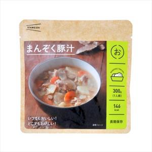 杉田エース IZAMESHI イザメシ まんぞく豚汁(長期保存食/3年保存/おかず)|kyoto-e-jiro