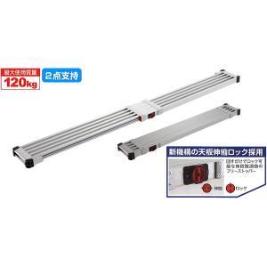 Hasegawa 長谷川工業 SSF1.0-360 スノコ式伸縮足場板スライドステージ(両面使用タイプ)ハセガワ足場板 送料無料|kyoto-e-jiro
