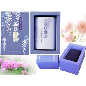 お線香 藤の香り 少煙香 ミニ丈|kyoto-flower