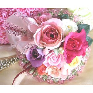 お姫さま手鏡(楽屋ミラー)セレブリティ|kyoto-flower