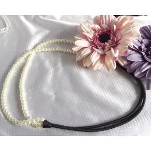 使い方自在パール2連ヘアバンド すごキラ ヘビロテ決定品|kyoto-flower