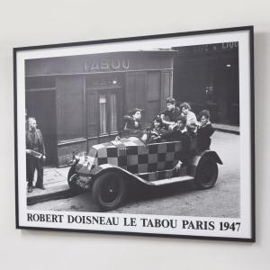 SB-KN103 Robert Doisneau ロベール・ドアノー SlimBlackFramei...