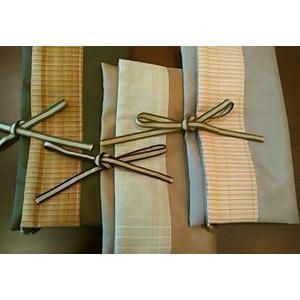 小枝かすみさんの草木染 紬織の草履袋|kyoto-itochu