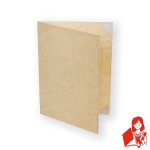 A4用orB5用【クリーム紙表紙】1枚収納用 証書ファイル 賞状ホルダー 結婚証明書入れ サイズをご選択下さい