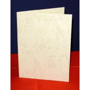 A5用【クリーム紙表紙】1枚収納用 証書ファイル 賞状ホルダー|kyoto-marutaya