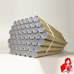 50本×@100円 A2用ポスター筒 プラスチックキャップ付き 51x450mm 紙筒 丸筒 紙管|kyoto-marutaya