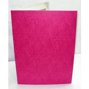 【A3用紙表紙】 1枚収納用 えんじ色 証書ファイル  賞状ホルダー