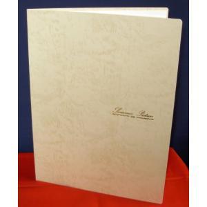 写真台紙(紙製) A4用 両面 クリーム 中抜きの形2種類から選択(タテ・楕円)|kyoto-marutaya