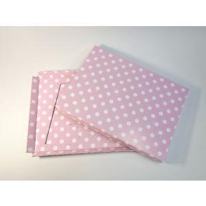 【A4用 スタンド収納箱】立てて、飾って、しまえ〜る! 水玉 ピンク色 kyoto-marutaya 02