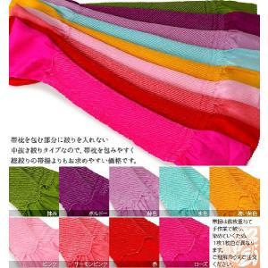 10色 振袖用帯揚 正絹 中抜き絞り 中抜 ネコポス便可|kyoto-miyabi|02