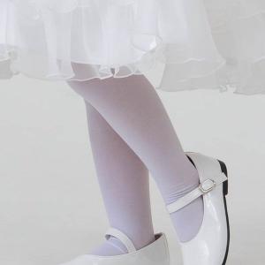 選べるサイズ タイツ 子供白タイツ 無地 ベビー・キッズサイズ お買い得 ハロウィン 仮装 ネコポス便可|kyoto-miyabi
