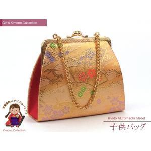 七五三に 女の子用金襴生地のバッグ「金」DBG105 kyoto-muromachi-st