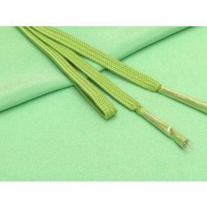 帯締め 帯揚げセット 絹紡平組の帯締めとちりめん生地の帯揚げセット 正絹「薄黄緑」HIBJset04|kyoto-muromachi-st