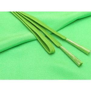 帯締め 帯揚げセット 絹紡平組の帯締めとちりめん生地の帯揚げセット 正絹「黄緑」HIBJset05|kyoto-muromachi-st