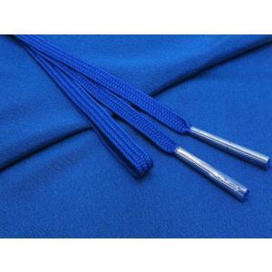 帯締め 帯揚げセット 絹紡平組の帯締めとちりめん生地の帯揚げセット 正絹「青」HIBJset19|kyoto-muromachi-st