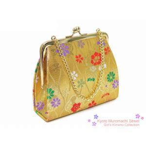 七五三 子供和装小物 金襴の和装バッグ「金、立涌」KSI051bg kyoto-muromachi-st