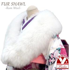 成人式振袖に ニュージーランドラムストール 販売 通販 振袖成人式 ショール 羊毛ショール 日本製「オフホワイト」|kyoto-muromachi-st