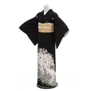 黒留袖レンタル4348(黒留袖 レンタル)結婚式 留袖レンタ...