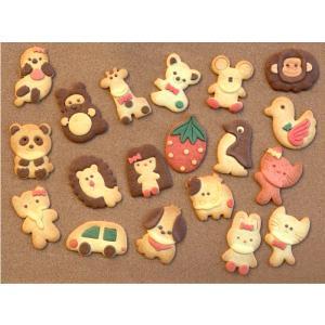 クッキー かわいい 動物 3枚セット ギフト プレゼント お得 母の日