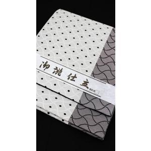 袋帯 西陣織 すぐ使える 仕立て上がり 斜めヨロケ格子 kyoto-wabitas