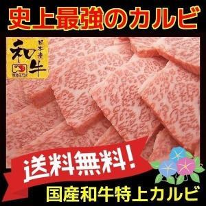 牛肉 ギフト 焼き肉 国産 和牛 特上カルビ 300g|kyoto1129