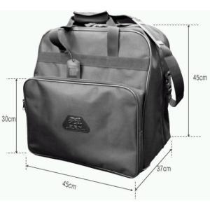 三恵製の防具袋の中で、一番の人気商品となっている防具袋です。 (高さ45x奥行37x横幅45:ポケッ...