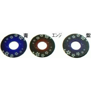 紋様つば 渦さくら 剣道具 竹刀 鍔 002-TBS.. kyotobudougu