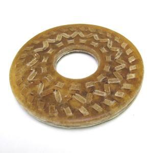 直径9cmの革鍔に三筋の縫い合わせをした革鍔です。 サイズはMとLサイズがございます。 特製ニ筋縫合...